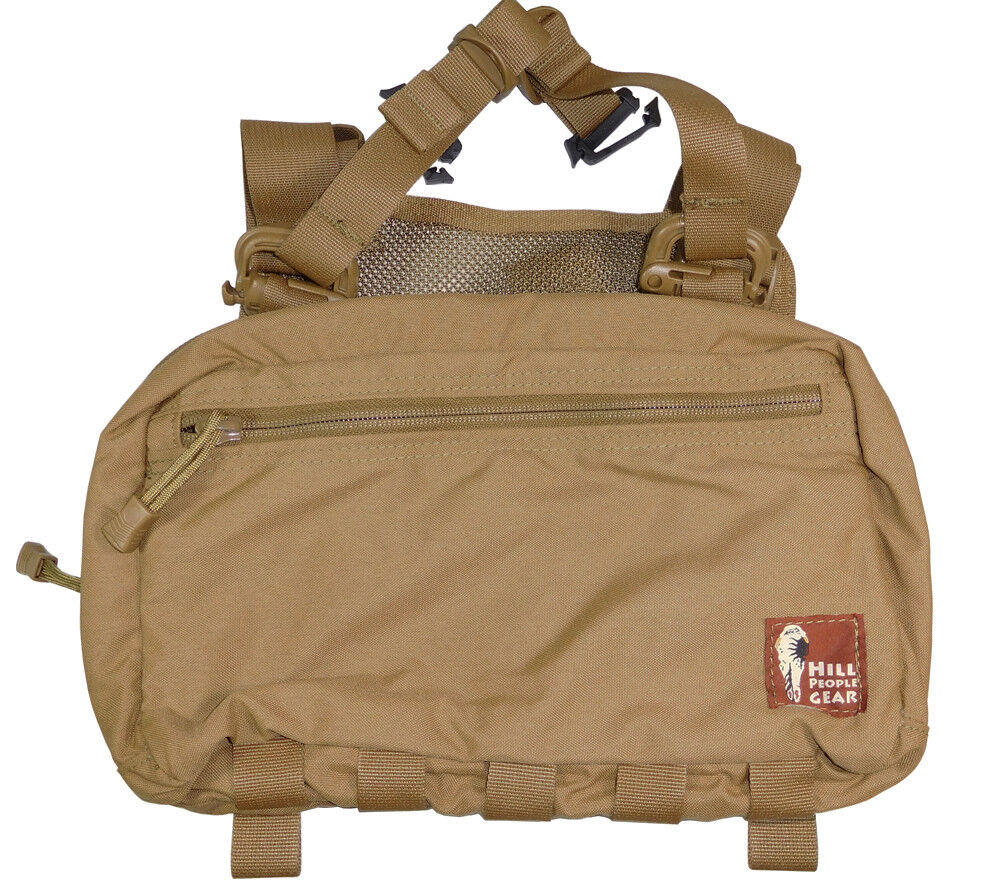 Hill People Gear V2 Kit Bag Coyote Brown Concealed Carry Fir