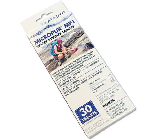 MicroPur MP1 Katadyn Water Purification Tablets 30 pack