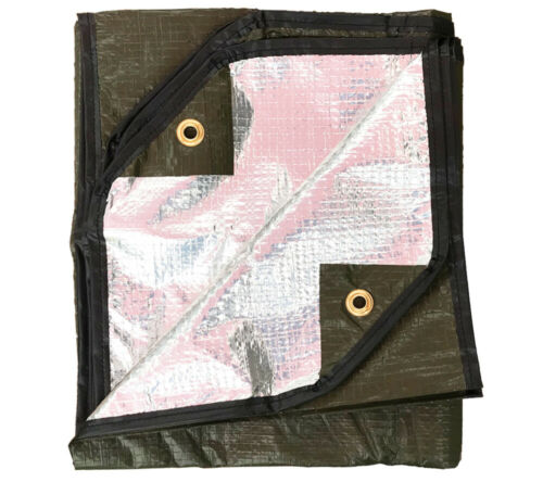 Casualty Blanket Olive Drab with Grommets Military Spec MIL B 36964 Type 1