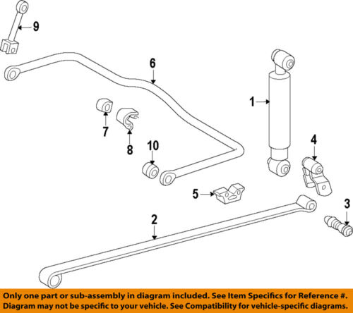 MERCEDES OEM 10-17 Sprinter 3500 Rear Suspension-Bumper 6113250044