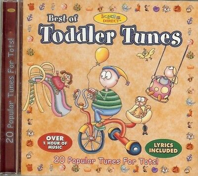 BEST OF TODDLER TUNES - 20 TUNES FOR TOTS - CD - NEW -