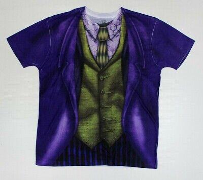 DC The Joker Purple Suit Costume Print T-Shirt New! Ledger Dark Knight (4C3 - The Jokers Suit