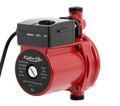 Kolerflo 110v 34 Automatic Hot Water Circulation Pump For Solar Heater System