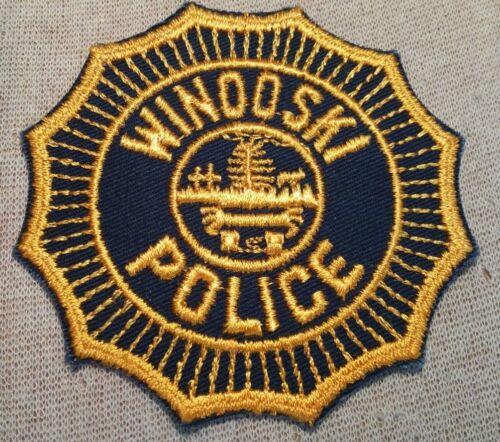 VT Winooski Vermont Police Patch