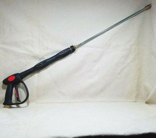 "PRESSURE WASHER GUN ANNOVI REVERBERI SPRAY TRIGGER MV925 4500 PSI EASY PULL 39"""