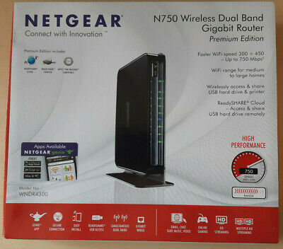 Netgear N750 (WNDR4300) Wireless Dual Band Gigabit Router