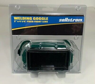 Sellstrom Welding Goggles Shade 5 2 X 4-14 Fixed Front 85455