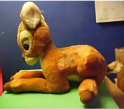 Vintage Disney Plush Bambi from Bambi 9 x 12 inches
