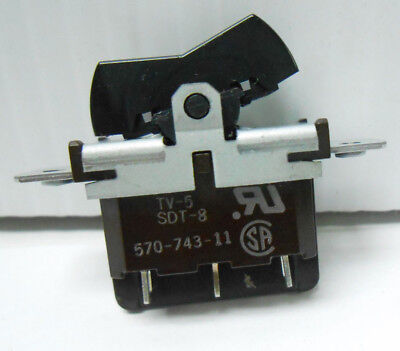 1-570-743-11 Sony Corporation Electrical Switch 125 Vac 10 Amps New Old Stock