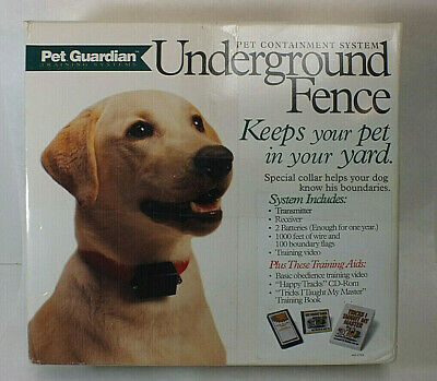Pet Guardian Underground Electric Fence Containment System 1000FT Boundary MS83 Pet Guardian Fence