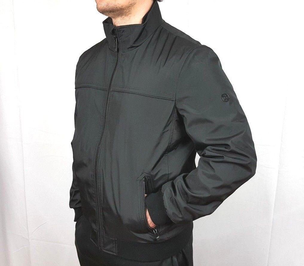 NWT Calvin Klein Men's Poly Bonded Bomber Ripstop Bomber jac