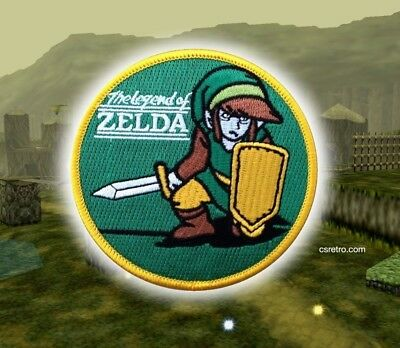 Legend of Zelda Video Game Vintage Retro Iron on Patch Applique Embroidered NEW