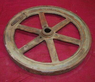 1 12 Hp John Deere Model E Crank Side Flywheel Gas Engine Motor 1