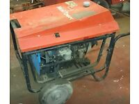 6kva diesel generator yanmar parts and repairs or could be fixed it turns on