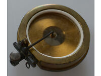 Gilt Brass Exhibition-style sound box for gramophone