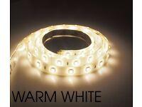 Brand New Lite Tech Warm White 2M Flexi LED Strip Light Complete Starter Kit