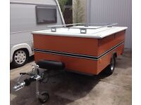trailer tent retro rare suit vw split screen ect, German built