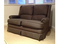 Two Seater Settee/Sofa in Navy