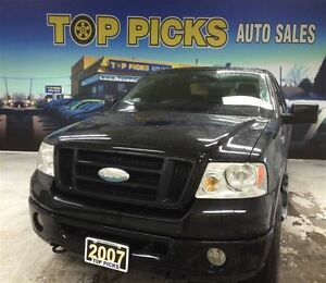 2007 Ford F-150 FX4, CREW CAB, 20 WHEELS, SUNROOF, LOW MILEAGE!