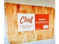 Wooden Chopping Board - Chef Professional Heavy Duty