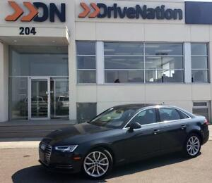 2017 Audi A4 2.0T Progressiv - NAVI, HEATED LEATHER, SUNROOF