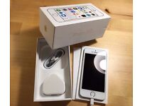 Apple iPhone 5s 16GB Silver White Unlocked