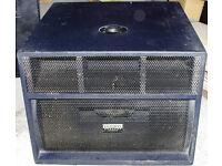 KAM Pro Sub 15A 350W x 200W x 200W Powered Sub bin