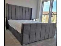 Best quality brand new plush / crush velvet beds