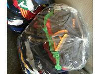 20 KG WHOLESALE JOBLOT SECOND HAND / USED / SPORTWEAR / SPORT CLOTHES / UK MARKET / GRADE A