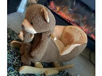 Cute Bear Rocker with Puppet