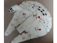 "Star Wars 28.5"" (72.5CM) Millennium Falcon by Hasbro."