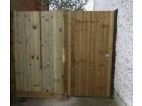 Garden fencing and maintenance services