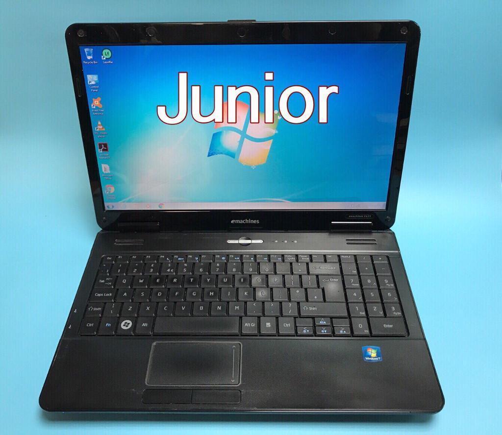 Emachines Hd Laptop 3gb Ram 250gb Windows 7 Microsoft Office Vgood Condition Dvd Drive