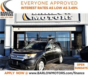2014 Ford Explorer XLT*EVERYONE APPROVED* APPLY NOW DRIVE NOW.