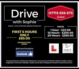 Drive with Sophie - Driving Tuition / Lessons across North Tyneside