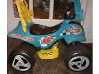 CAN DELIVER kids quad bike electric rechargeable battery operated ride on kids baby outdoor bike
