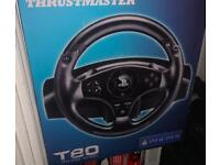 Thrust master t80 racing wheel