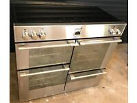 STOVES electric range cooker with induction hob