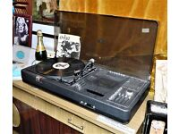 1970's Vintage Sound System, Record Player & Tape player