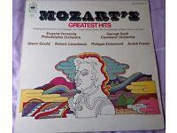Mozart's Greatest Hits Vinyl Album LP (CBS 30006)