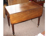 Sutherland dining table with drawer