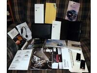 GENUINE FORD KA OWNERS HANDBOOK MANUAL /& AUDIOBOOKS /& WALLET CASE 2008 TO 2013