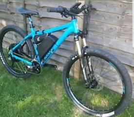 Battery powered mountian bike