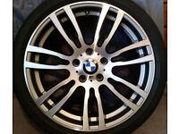 BMW 403 M Sport alloy wheels.