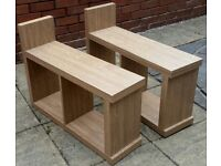 2 sofa side tables. 75 x 40cm. In very good condition.