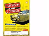 Only Fools & 3 Courses Dining Experience at Mercure Maidstone Great Danes