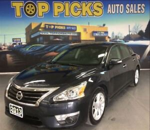 2013 Nissan Altima SL, LEATHER, SUNROOF, POWER SEATS, ALLOY WHEE