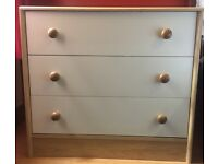 1 Large + 1 Small chest of drawers, bedside tables