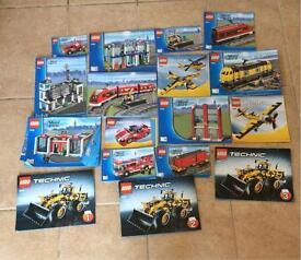Lego complete sets job lot