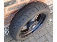 Suzuki Bandit GSF 600 mk1 Rear Wheel with Tyre RF600